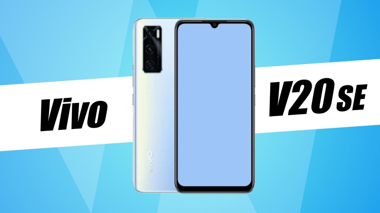 Vivo V20 SE with water-drop notch