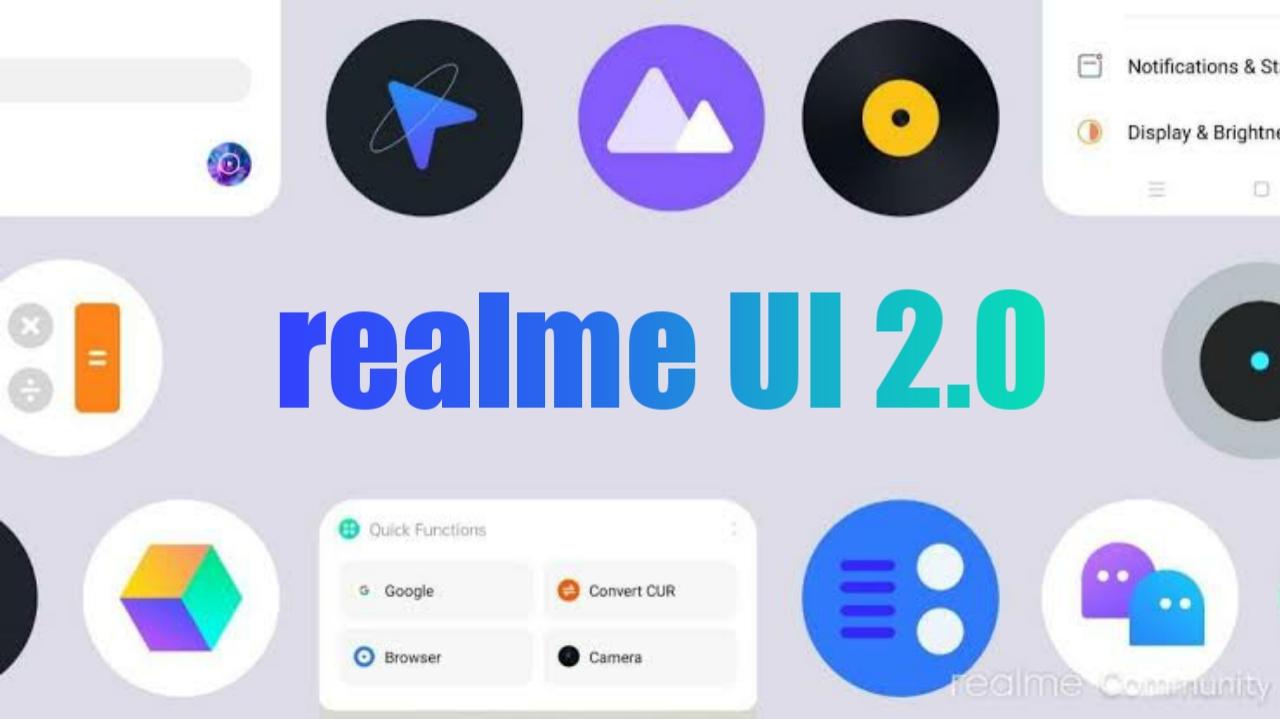 Realme UI 2 features