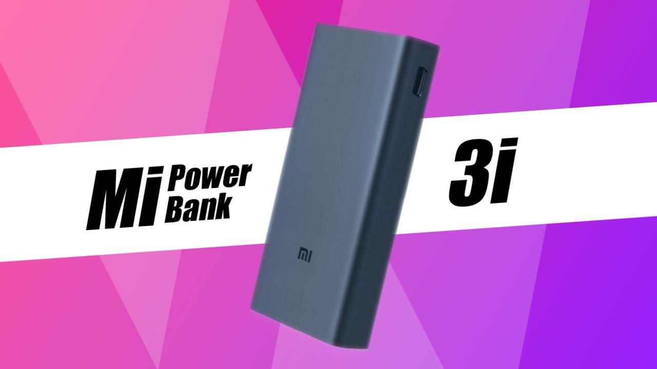 Mi Power Bank 3i