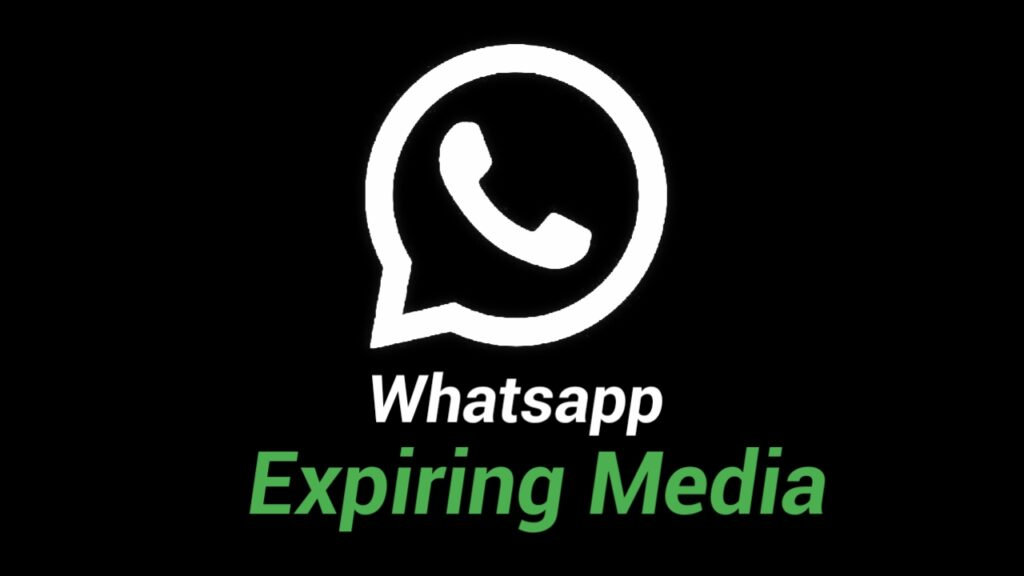 Whatsapp disappearing media feature