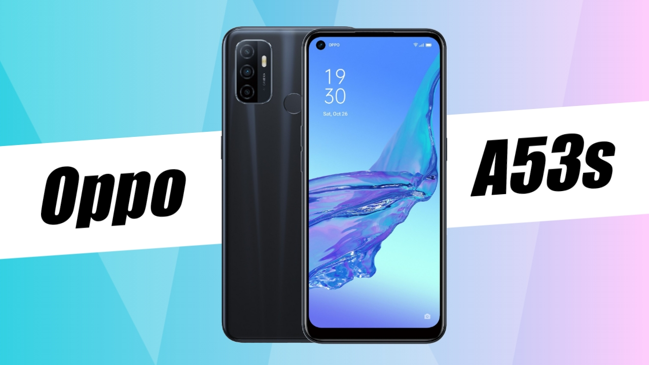 Oppo A53s listed