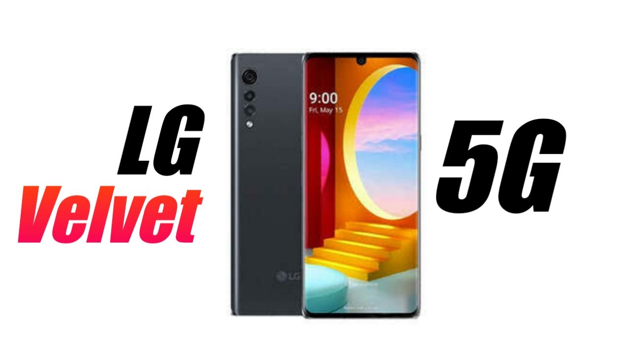 LG Velvet 5G India
