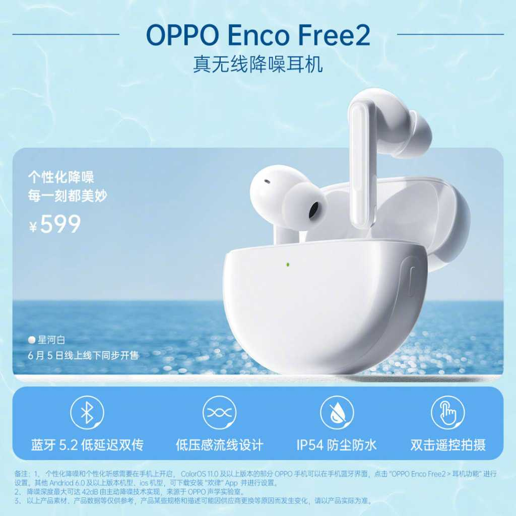 Oppo Enco Free 2 TWS earbuds with Active Noise Cancellation Launched: Price, Specifications