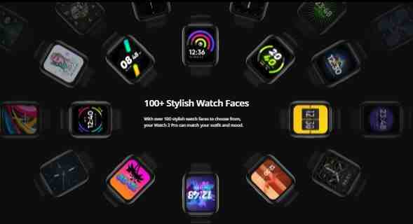 Realme Watch 2 Pro Specifications