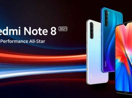 redmi note 8 2021 listed