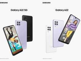 Samsung Galaxy A22 5G launched