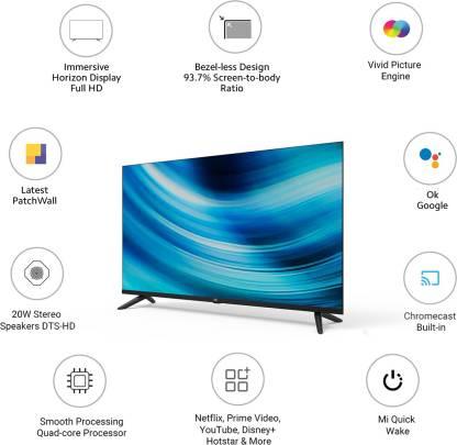 Xiaomi Mi TV 4A 40 Horizon Edition debuted: Specs, Price
