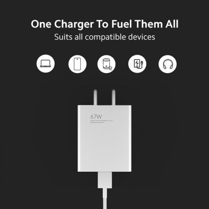 Mi SonicCharge 3.0 67W charger price leaked ahead of launch