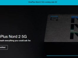OnePlus Nord 2 launch date