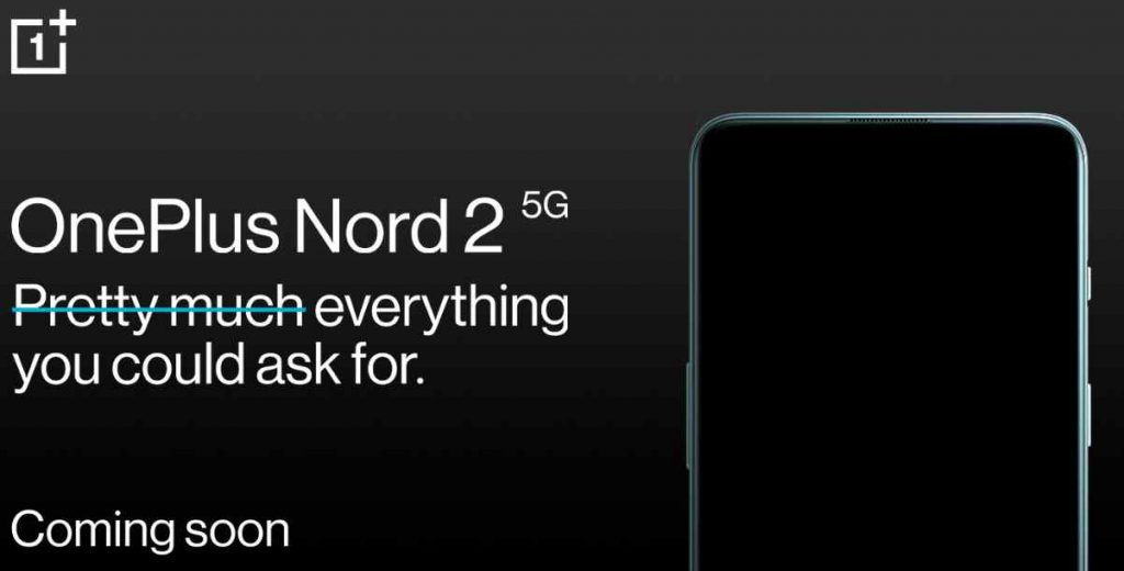 oneplus nord 2 teaser