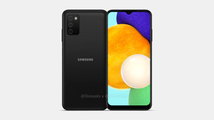 Samsung Galaxy A03s spotted