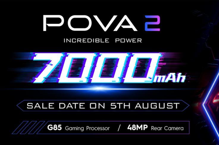 Tecno POVA 2 launch