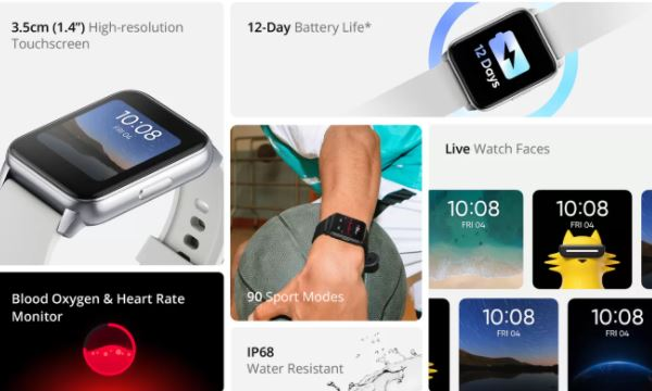Realme Dizo Watch with 90 sport modes, spo2 sensor launched in India: Price, Specifications