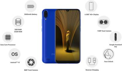 MarQ M3 Smart with dual rear camera, waterdrop notch launched in India: Price, Specifications